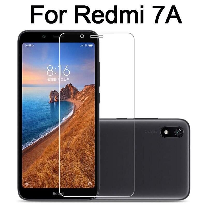 Redmi 7a Glass Protective 7 A A7 For Xiaomi Redmi7a Screen Protector Safety Armor On Ksiomi Xioami Radmi Mi Tempered Glas Film
