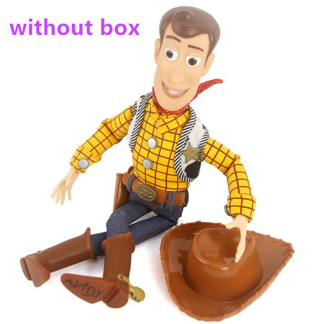 40cm 1pc  Talking Woody Action Toy Figures Model Toys car sticker Children  Gift