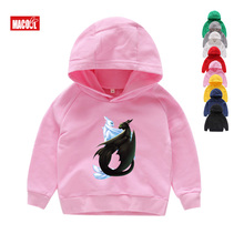 Boys Girls Toothless The Night Fury Cartoon Print Hoodies Sweatshirts Kids Funny Clothes Children Pink Long Sleeves Hoodies 7T s kids bing bunny cartoon print hoodies coats for boys girls rabbit long sleeves hoody sweatshirts for children costumes