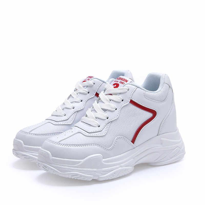 MBR FORCE รองเท้าผ้าใบสตรีฤดูใบไม้ผลิและฤดูใบไม้ร่วงหนาแต่เพียงผู้เดียว vulcanized รองเท้า Breathable CROSS ผูกรอบนิ้วเท้ารองเท้า