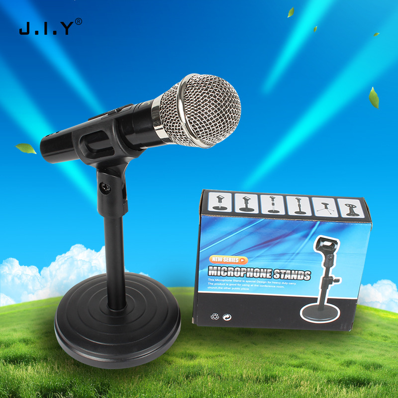 Microphone Support Desktop Universal Multi-functional Anchor Condenser Mic Vertical Microphone Support Aggravate Desktop Support