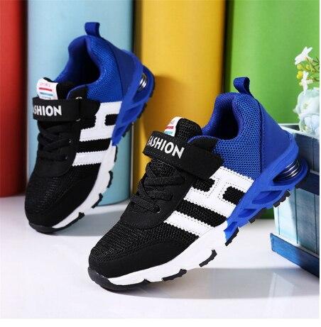 חדש עיצוב ילדי ספורט נעלי בני בנות אביב דעיכת Outsole Slip טלאים לנשימה ילדי נעלי ספורט ילד נעלי ריצה