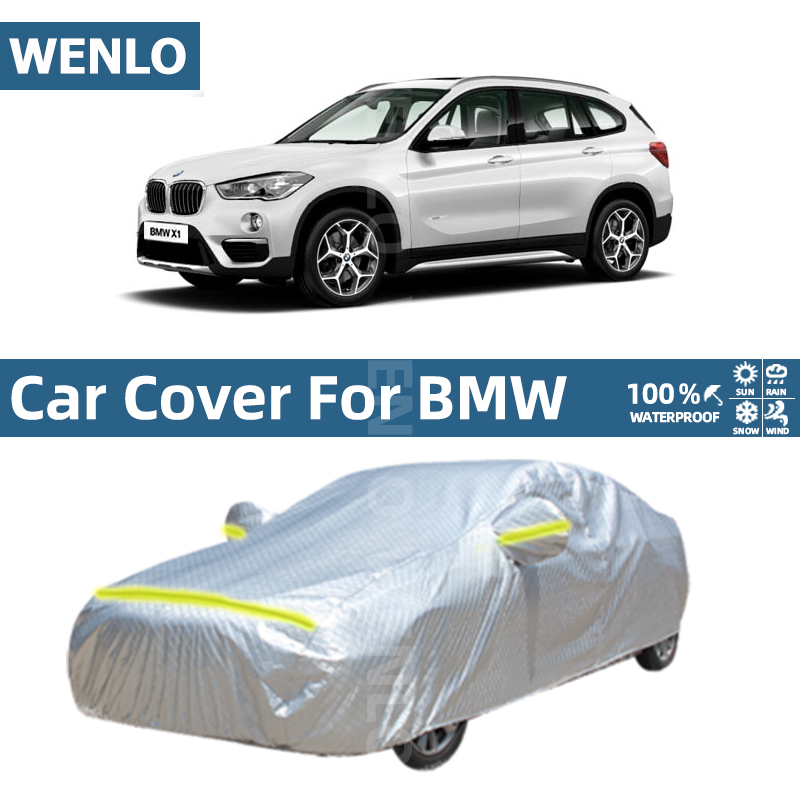 Car Cover Waterproof Sun Rain Snow Resistant Cover For BMW X1 X2 X3 X4 X5 X6 E70 E71 E84 F39 F48 G01 G05 F15 F16 F25 F26 image