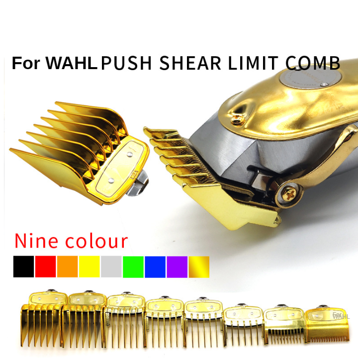 8PCS Universal Hair Clipper Limit Comb Guide Attachment Size Barber Replacement For Wahl G0311