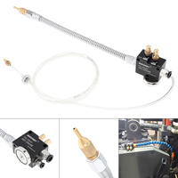 Precision Mist Coolant Lubrication Spray System with Adsorbable Magnetic Base and Stainless Steel Flexible Pipe