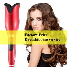 Professional Automatic Hair Curling Iron Magic Electric Spiral Hair Curler Roller Curling Wand Ceramic Hair Styling Tools