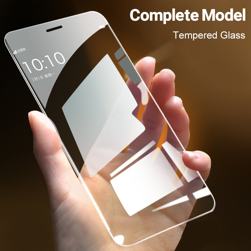 Fashion HD Tempered Protective Glass on the For iPhone 11 Pro 6s 7 8 X XS Max XR 10D Full Coverage Glass Screen Protectors Film