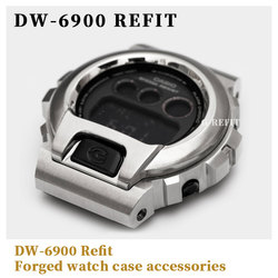 G-Refit DW6900  316 Stainless Steel Watch strap and case 6900 series DW6930 DW6935 6925 Metal case  watch strap with Repal tools