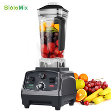 3HP 2200W Tugas Berat Komersial Kelas Timer Otomatis Blender Mixer Juicer Buah Food Processor Ice Smoothie BPA Gratis 2L jar(China)