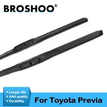 BROSHOO Car Windscreen Wipers Blade For Toyota Previa 2000 2001 2002 2003 2004 2005 2006 2007 2008 2009 2010 2011 2012 2013