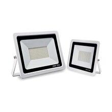 Светодиодный прожектор 10 Вт 20 Вт 30 Вт 50 Вт 100 Вт теплый холодный белый Светодиодный прожектор водонепроницаемый IP66 прожектор Наружное настенное освещение