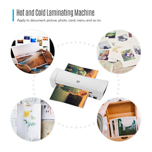 """Image 3 - A4 9"""" Office Hot&Cold Photo Laminator Roll Laminator Thermal Laminating Machine for A4 Document Photo"""