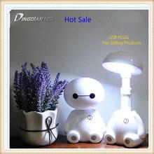 Lampe de Table à la Protection des yeux, à la lampe de Table à LED 3 5W à USB, lampes de bureau à lecture tactile pour livre à économie dénergie lampe à étudier les lampes de bureau de la chambre à coucher