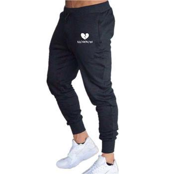 Nowe męskie spodnie spodnie dresowe do biegania spodnie do biegania męskie spodnie na co dzień marka elastyczna bawełna siłownie Fitness Harem męskie spodnie spodnie 2020 tanie i dobre opinie Proste Mieszkanie Poliester COTTON NONE REGULAR 72 - 92 Pełnej długości aixin Midweight Suknem Elastyczny pas Solid color