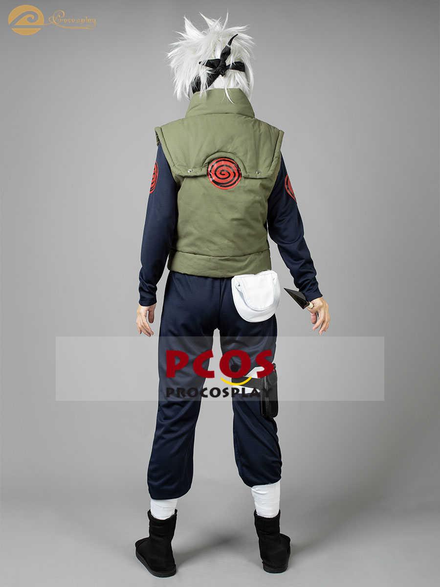 Ensemble de surv/êtement Naruto 3D Anime Hatake Kakashi Cosplay d/écontract/é d/ét/é /à manches courtes Ninja Uzumaki Uchiha Naruto Crop Top et pantalon de sport