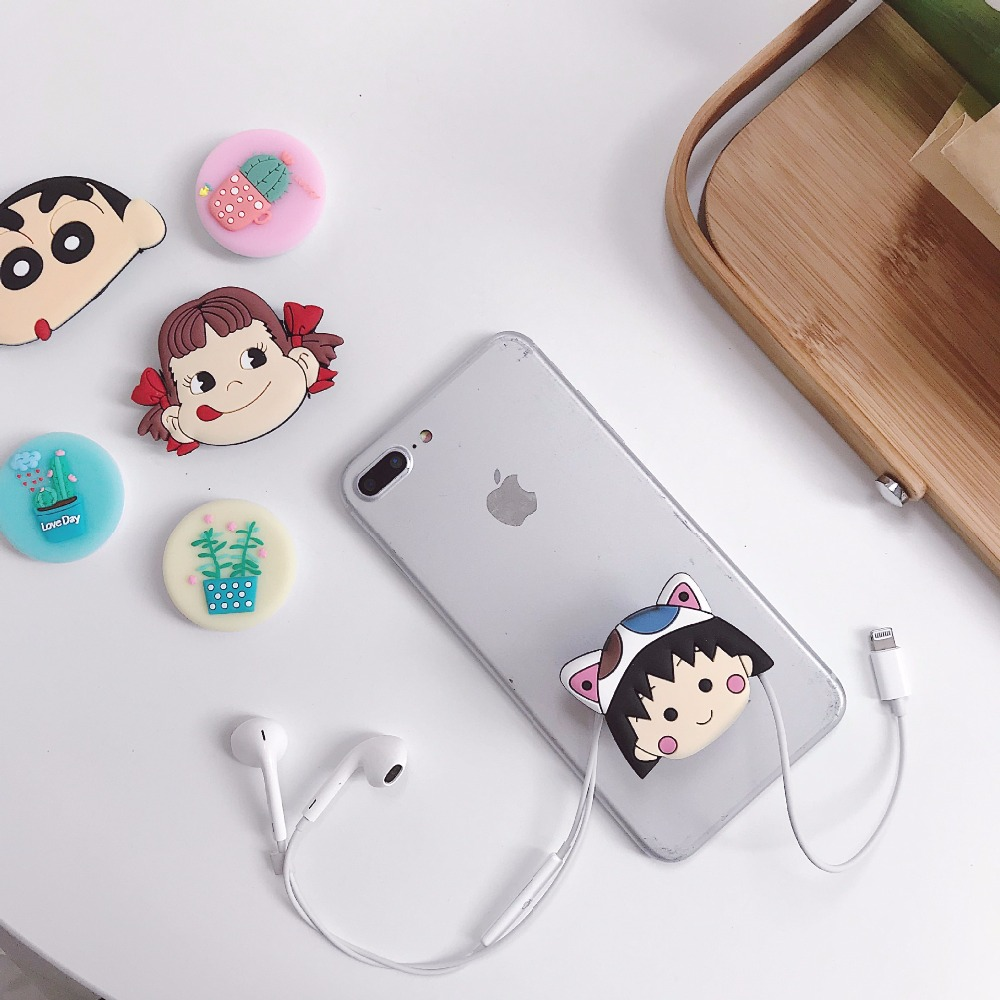 Image 4 - Cute Universal Airbag Bracket Stitch Lucky Cat Phone Expanding Stand Cartoon Mobile Finger Holder Bear Milky Girl Cell Kickstand-in Phone Holders & Stands from Cellphones & Telecommunications