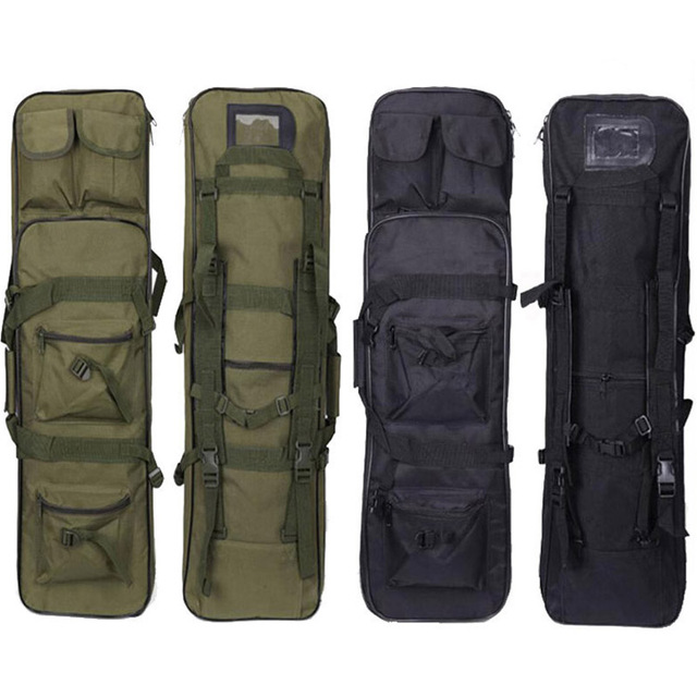 81 94 115cm Tactical Molle Bag Nylon Gun Bag Rifle Case Military Backpack For Sniper Airsoft Holster Shooting Hunting Accessorie 1