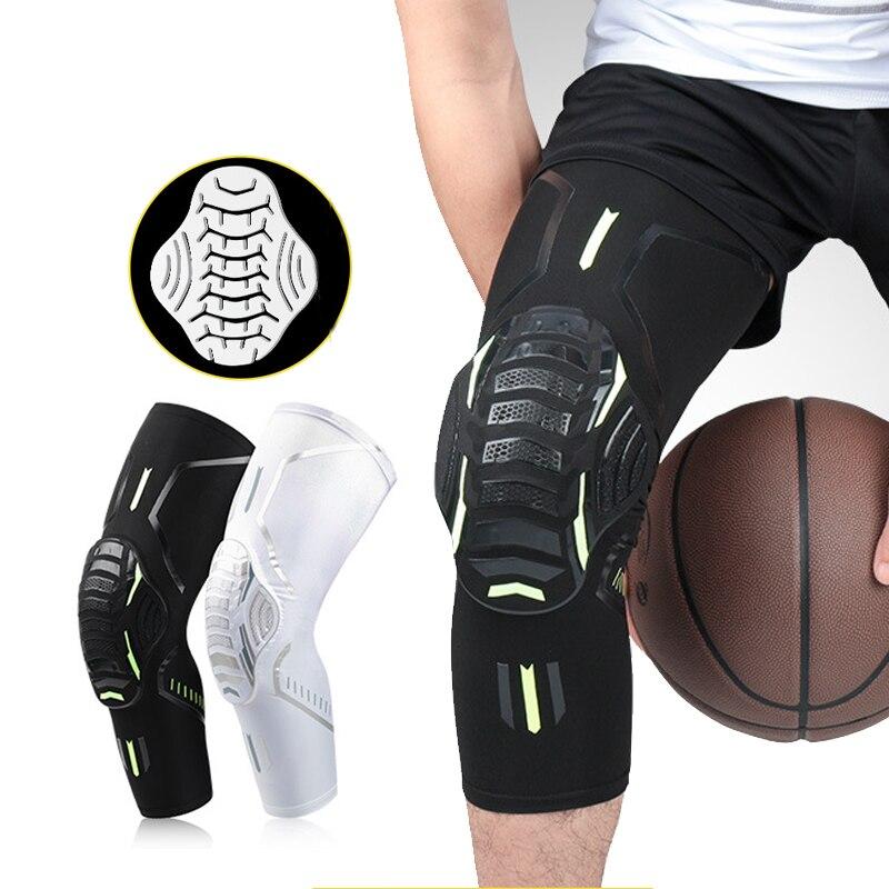Rodillera de compresión para artritis, Protector de manga, soporte para articulaciones, deportes, baloncesto, voleibol, correr, rodilleras elásticas, novedad