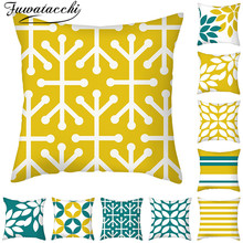 Fuwatacchi Nordic Style Cushion Cover Polyester Simple and Elegant Pillow for Car Sofa Home Room Decorative Pillowcase