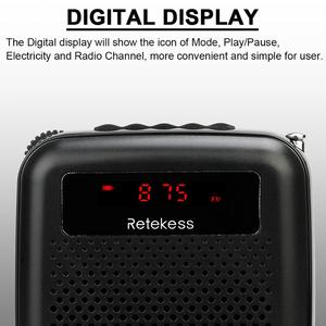 Image 2 - Wireless Microphone TR503 + Portable Voice Amplifier Loudspeaker with FM Radio MP3 Player PR16R for Teacher Training