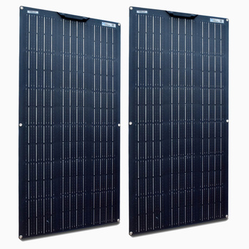 XINPUGAUNG 2pcs 18v 100 WATT flexible solar panel Module 200W with controller for 12V 24V battery car RV home charging