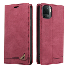 Reno 4 Z Reno5 Lite 5F 4Z 5G Flip Case Luxury Leather Shield RFID Blocking Wallet Skin for OPPO Reno 5 Lite Case Reno4 Lite 5 F