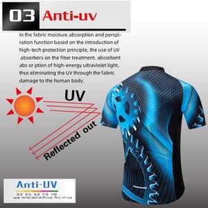 Image 5 - ฤดูร้อนใหม่Teleyiเกียร์ขี่จักรยานJerseyแขนสั้นชุดMaillot Ropa Ciclismo Uniformes Quick แห้งเสื้อผ้าMTB Cycleเสื้อผ้า