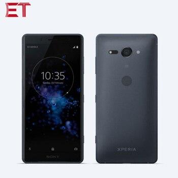 Перейти на Алиэкспресс и купить Новый мобильный телефон Sony Xperia XZ2 Compact H8324 LTE 5,0 дюйм1080x2160p 4 Гб RAM 64 Гб ROM Snapdragon845 19MP Dual SIM NFC Android