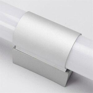 Image 5 - Ledウォールライトモダンなバスルームミラーライト 16 ワットアクリルledロングチューブ化粧ライトインテリアライト (ウォームライト) アルミ + acryli