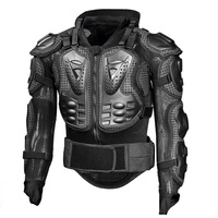 Motorcycle Full Armor Protective Gear Jacket with Neck Brace Protection Guard