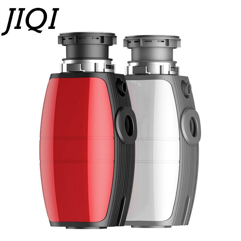 JIQI food waste disposer garbage disposal processor crusher Stainless steel grinder shredder kitchen appliance 375W with adapter
