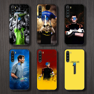 Iker Casillas Fernandez soccer Phone Case Cover Hull For XIAOMI Redmi 7a 8a S2 K20 NOTE 5 5a 6 7 8 8t 9 9s pro max black coque
