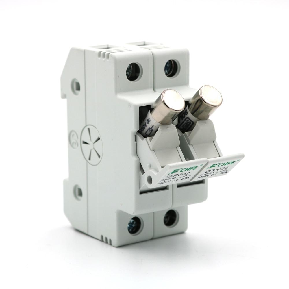 Solar PV DC fuse 30 A 1000 V fusible pour système solaire protection