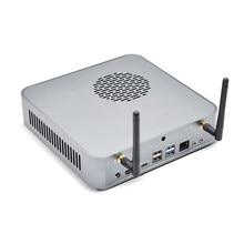 Topton masaüstü oyun bilgisayar 7nm AMD Ryzen 5 4600H 6 çekirdekli 12 konuları kadar 4.0GHz Mini PC windows 10 AX WiFi6 BT5.1