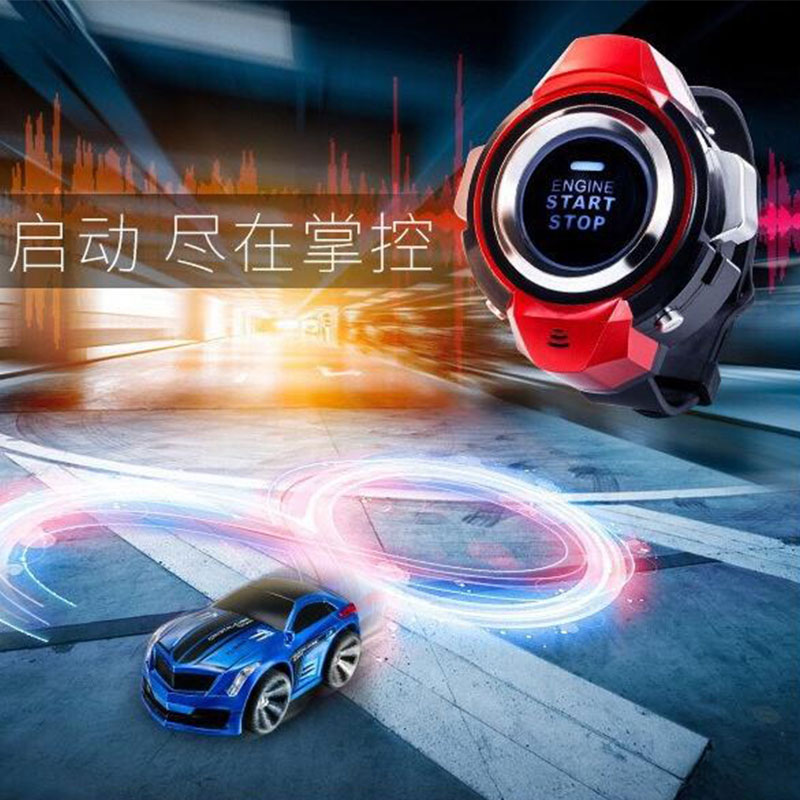 Telecar Smart Watch Electric Telecontrol Vehicle Voice Command Racing Car Game Drift Vehicle Children's Christmas Gift