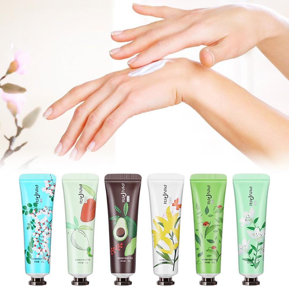 30g Hand Cream Moisturizing Skin Care Autumn Winter Not Greasy Hand Cream Floral Shea Butter Anti-freeze Anti-Crack Hand Cream