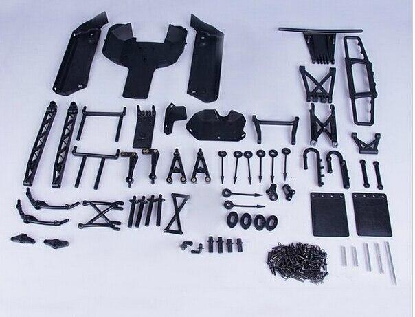 Пластиковые 5B обновления до 5SC конверсионный набор для 1/5 Hpi Rovan Km Baja 5sc Rc автозапчасти
