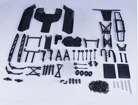 Plastic 5B Upgrade To 5SC Conversion Kit for 1/5 Hpi Rovan Km Baja 5sc Rc Car Parts