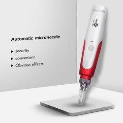 Profissional baioneta dr. caneta micro agulha derma caneta agulha cartucho dicas de agulha para elétrica micro rolamento derma selo terapia