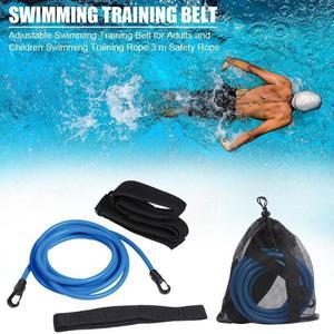 Ремни для тренировок по плаванию, эластичные ленты для плавания, стационарные ремни для плавания, набор статических ремней для плавания