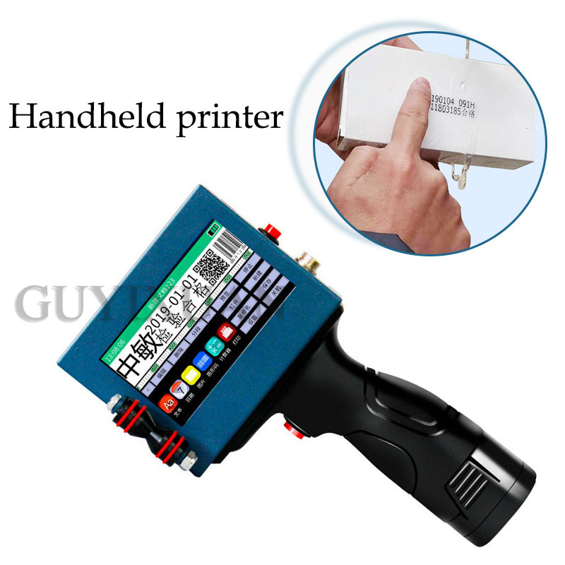 Intelligent Handheld Printer Commercial Full Automatic Laser Coding Machine Food Price Production Date Small Coder