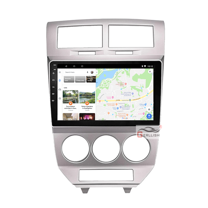 10.1 Inch Android Car Multimedia Video Audio GPS Radio BT DVD GPS Navigation Player For Dodge Jcuv 2013 2014