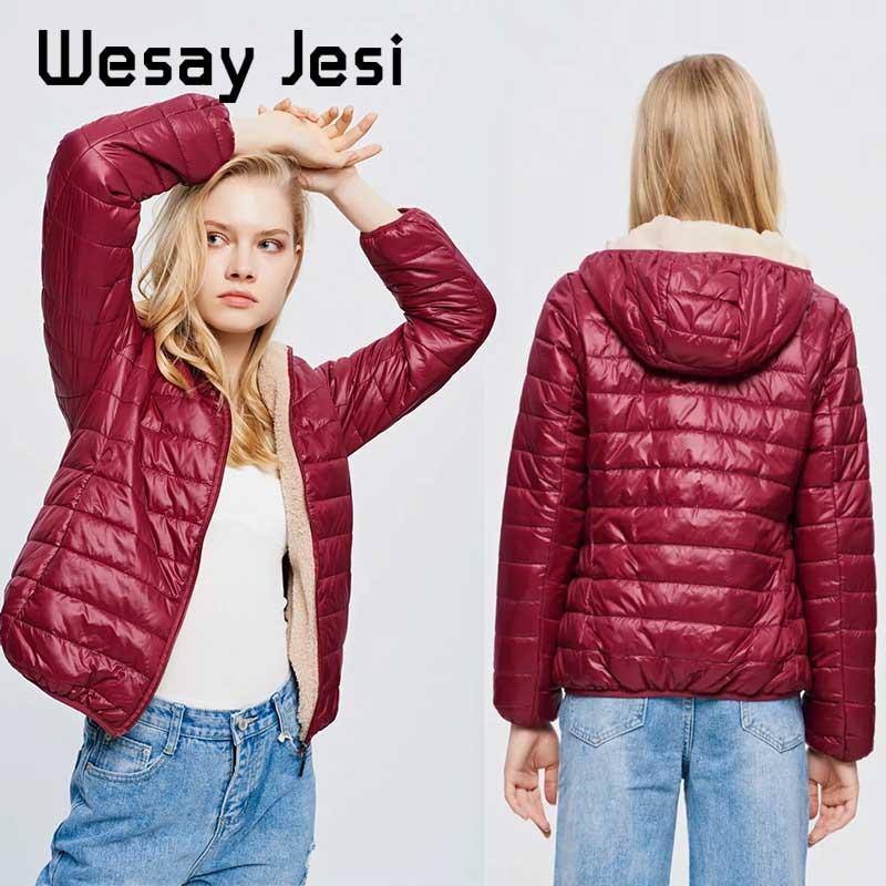 Women Winter Coats Duck Down Jacket Autumn Women Ultra Light Down Jacket chic Slim Women's warm Jacket Coats plus size