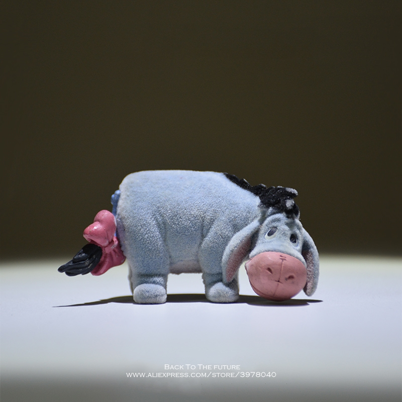Disney Winnie The Pooh Eeyore 5.5cm Action Figure Anime Decoration Collection Figurine Kid Doll Mini Toy Model For Children Gift