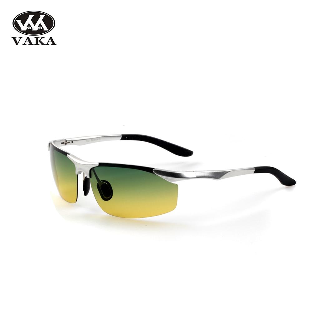 Nové módní Pánské polarizované sluneční brýle Designer Driving Brýle Vintage Sun Glasses UV400 oculos de masculino 8179 na celý den