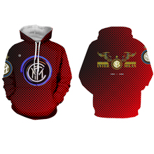 цена 2019 new 3D printing AC Milan Sweatshirt men and women fashion casual hoodies AC Milan men's hoodies Harajuku football clothing онлайн в 2017 году