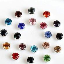 Ss16 pedras de strass com costura, pedrinhas de strass com aplique diamante