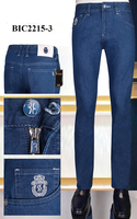 BILLIONAIRE Jeans men 2020 new Summer thin cotton casual embroidery Cowhide zipper British big size 31 40 free shippng