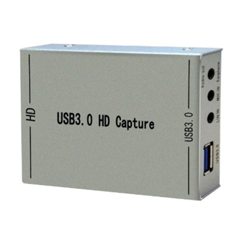 HDMI USB3.0 видеозахвата HDMI к USB карта видеозахвата игра потоковая прямая трансляция