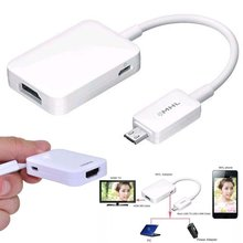 цена на MHL 2.0 Cable Smart 1080p For Samsung Galaxy S3 S4 S5 NOTE HDTV Adapter